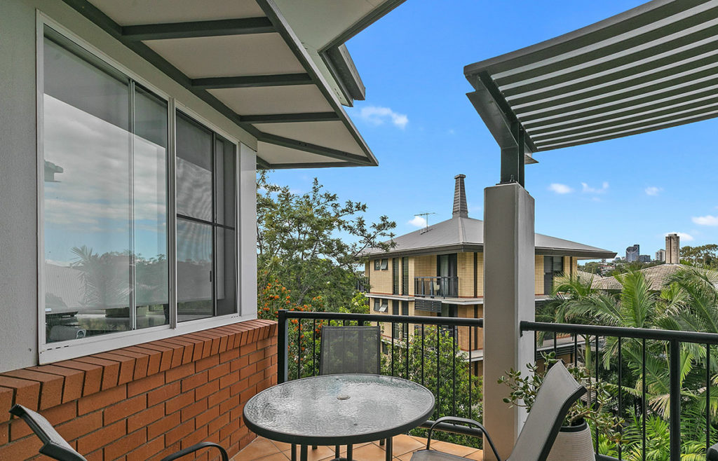 UQ Hostel Balcony
